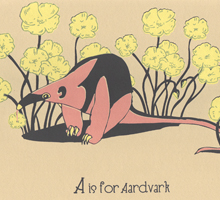 A is for Aardvark-220