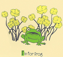 F is for Frog220