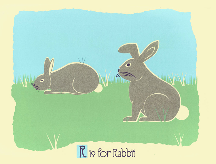 R Is For Rabbit R is for Rabbit Alphab...